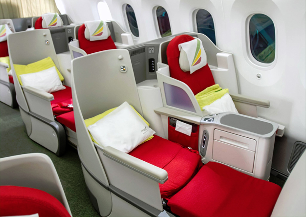 ethiopian airlines 777 business class