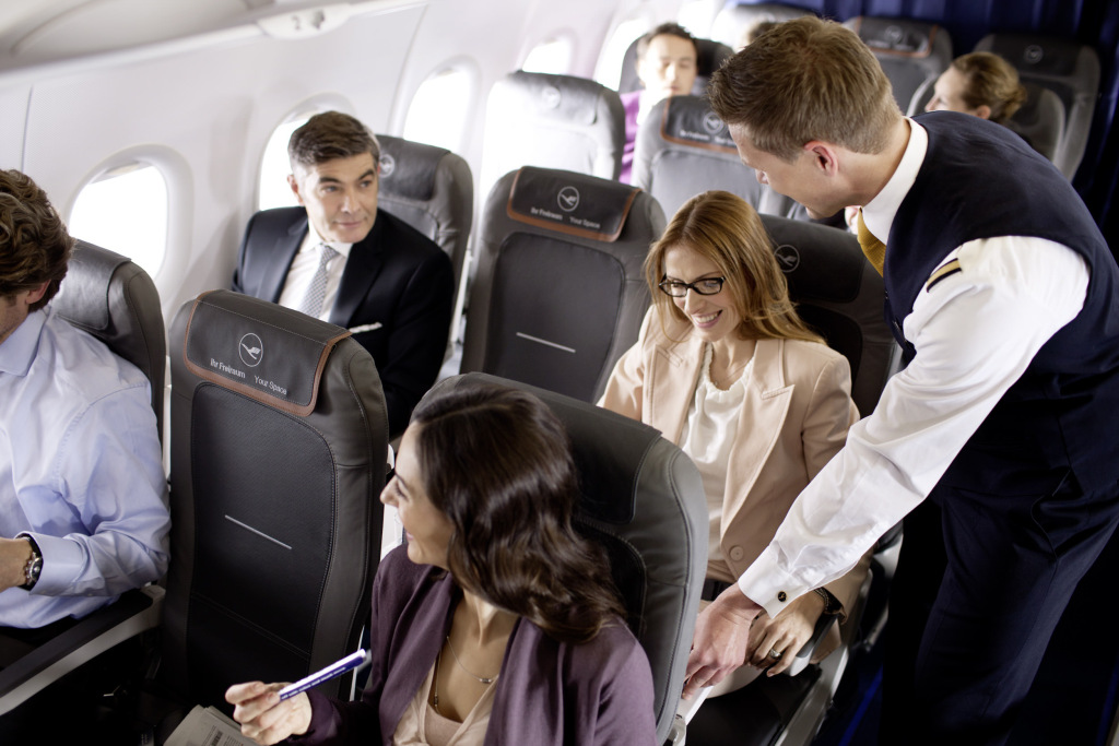 lufthansa last minute upgrade on business class