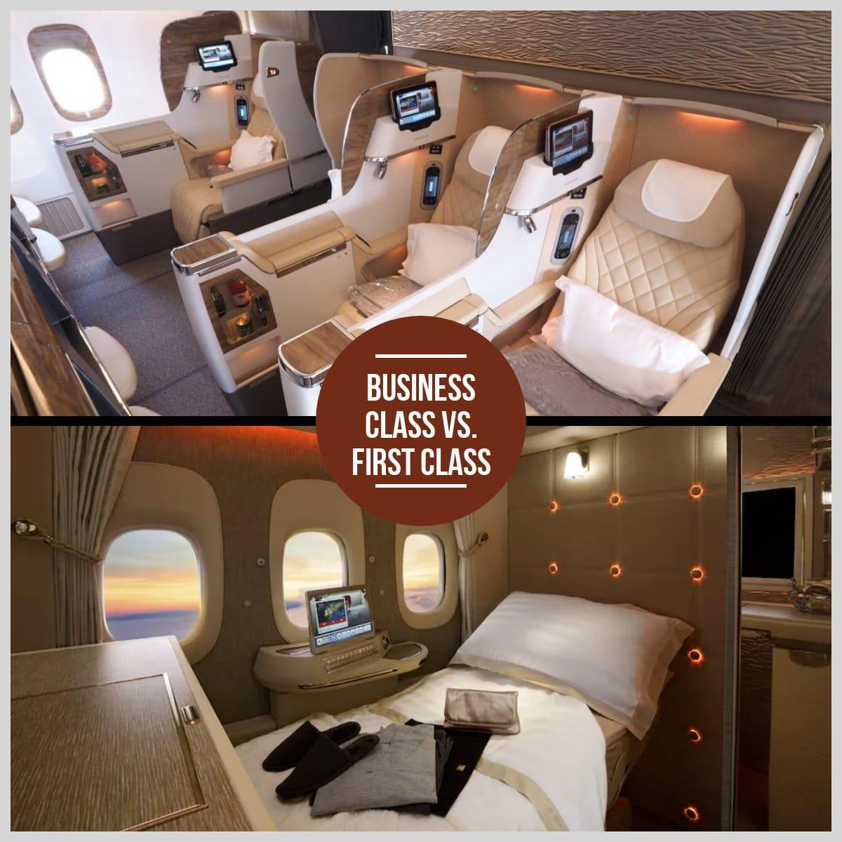 business vs first class