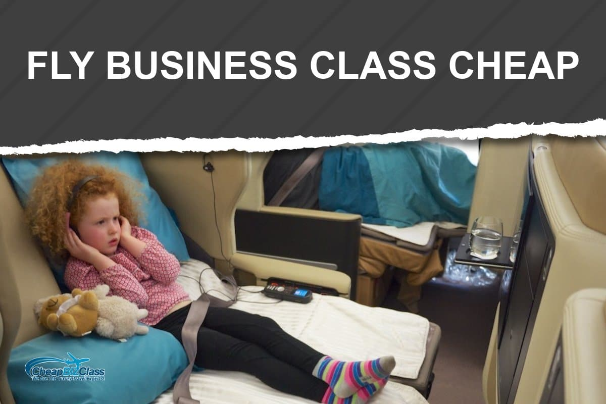 fly business class cheap