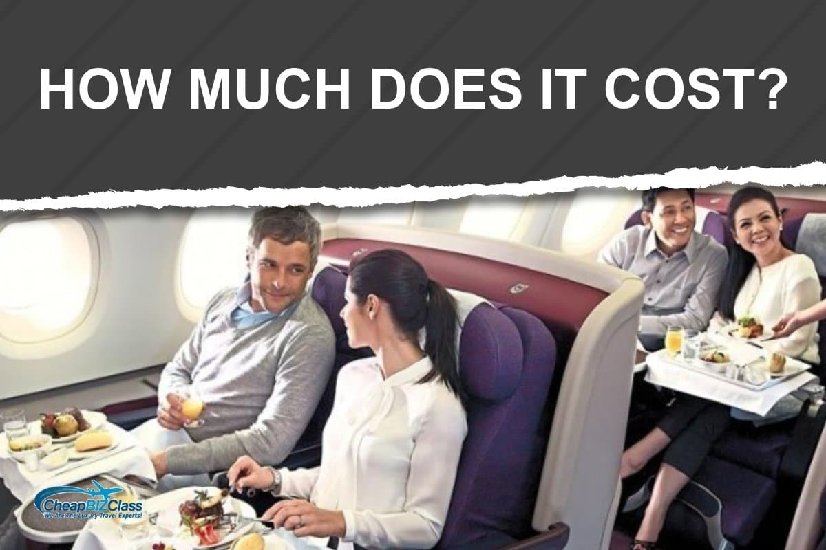 how much is a business class ticket
