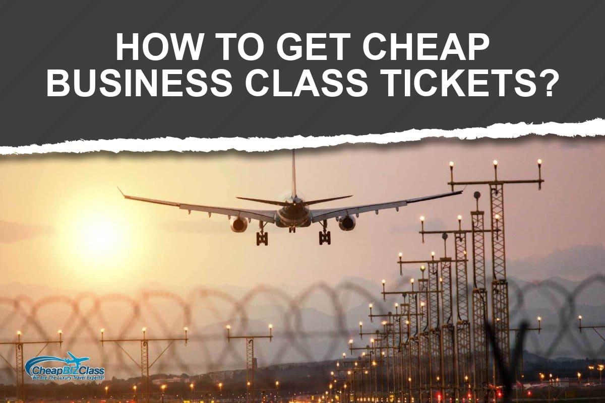 business class flight tickets