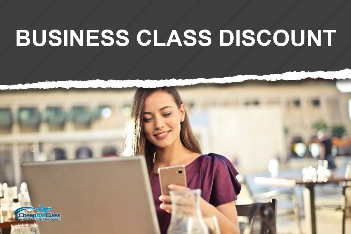how to get discount business class tickets
