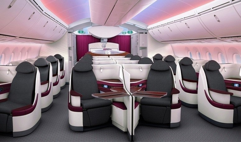 business class flight offers