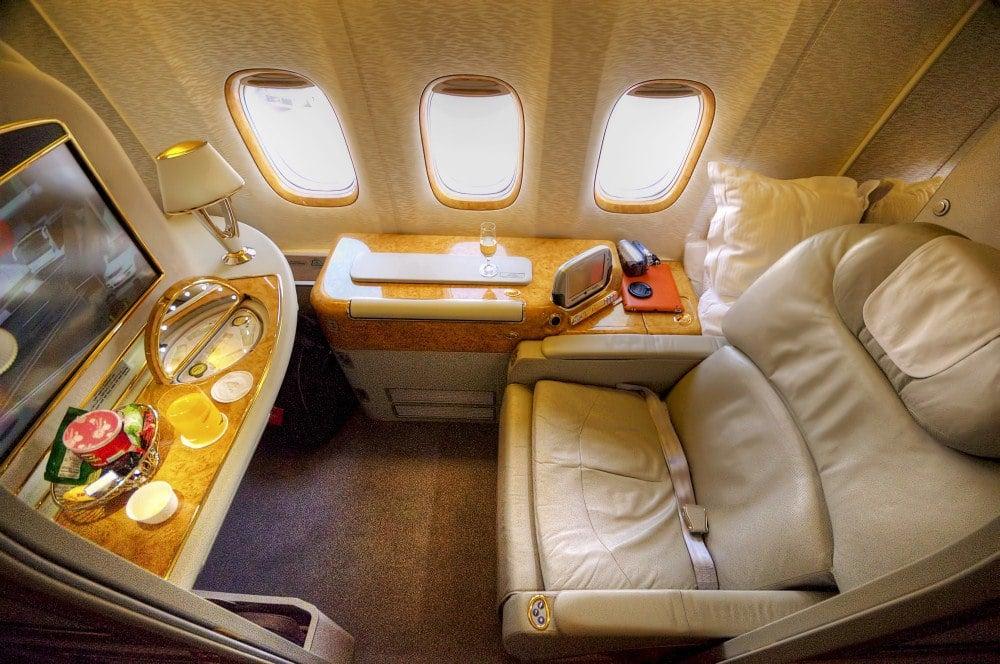 best deals on first class flights
