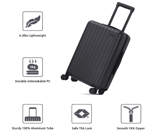 GoPenguin carry-on Smart Luggage